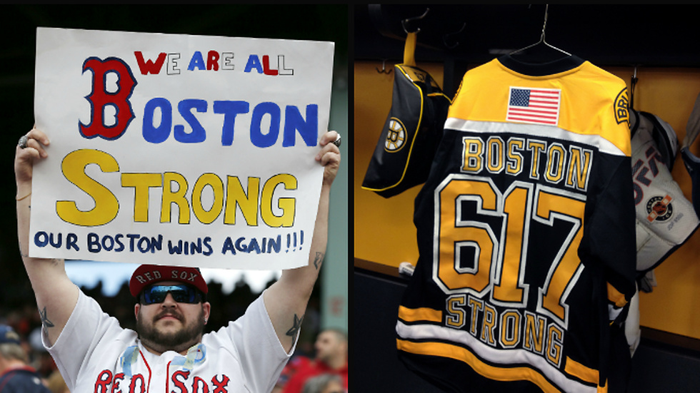 """Boston Strong"" omfamnades av en hel stad."