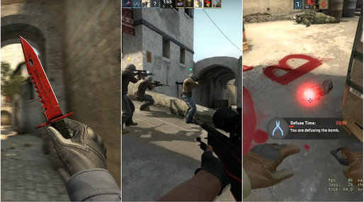 CS, Spel, Quiz, Counter-Strike, Gaming, csgo