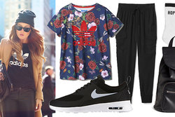Trend,  Sneakers, Mode, T-shirt, inspiration,  vår 2015, sportigt