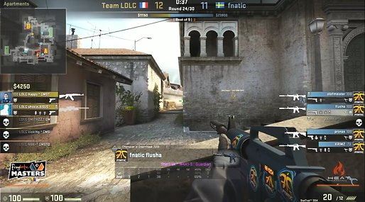 LDLC, Fragbite Masters, Fnatic, Counter-Strike: Global Offensive, Fragbite