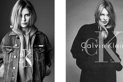 calvin kleins, Supermodell, Kate Moss, Kampanj, Lottie Moss,  add