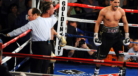 Madison Square Garden, WBA, Paulie Malignaggi, boxning, New York, Amir Khan