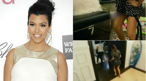Kourtney Kardashian, Analsex, Dildo, Scott Disick