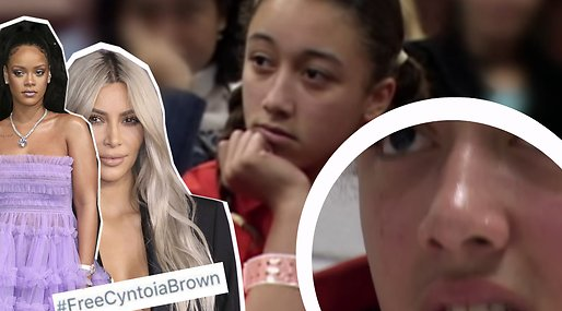 Cyntoia Brown, Trafficking, Kim Kardashian, Rihanna