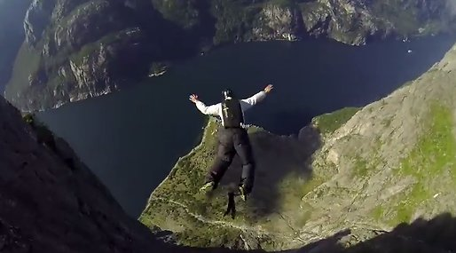 Basejumping, Basejump, Extremsport, Norge, Natur