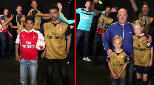 Arsenal,  Photobomb, Fotboll, Premier League
