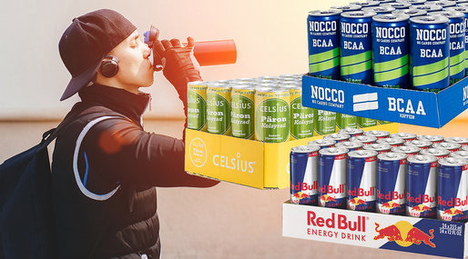 Energidryck, Red Bull, Nocco