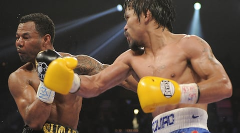 boxning, Manny Pacquiao, WBO, Shane Mosley