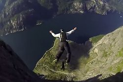 Basejumping, Extremsport, Norge, Natur, Basejump