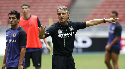 Manchester City, Premier League, Liverpool, Roberto Mancini