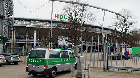 Arena, Hannover, Fotboll, bombhot