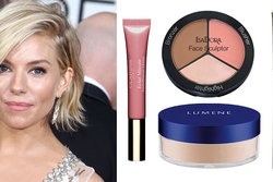 Sienna Miller,  Look, smink, Make Up, Beauty, Stilikon