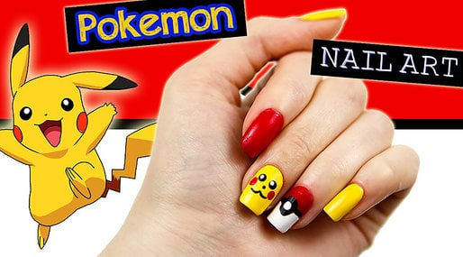 pokemon,  Nagelkonst, Pokemon Go, Naglar