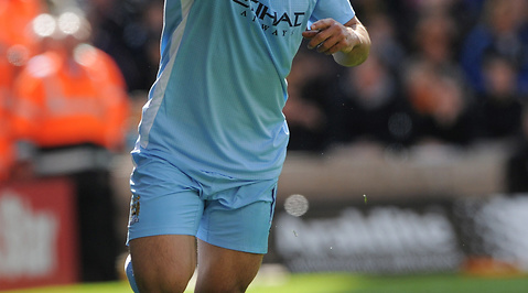Sergio Aguero, Manchester City, Premier League