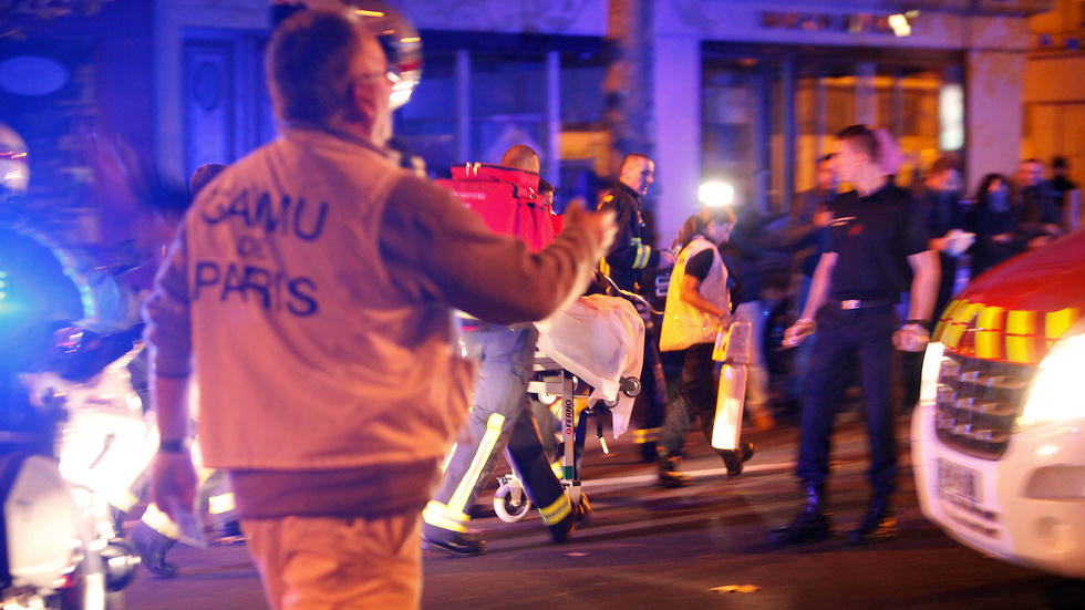 Bilder från attackerna i Paris