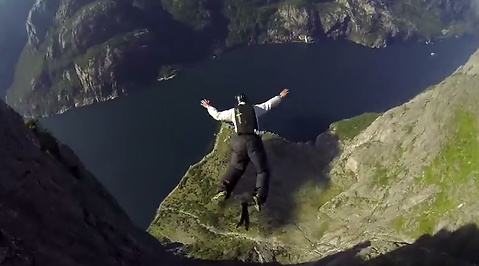 Natur, Norge, Basejump, Extremsport