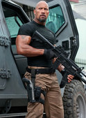 Dwayne The Rock Johnson i Fast Five.