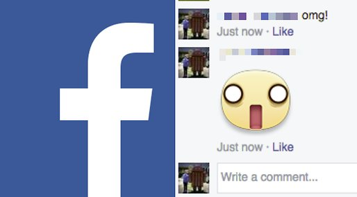 Facebook,  Kommentarsfält,  Stickers, smiley