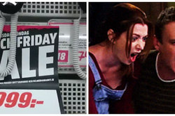 Rea,  rakapparater, Media Markt, Bluff, Black Friday
