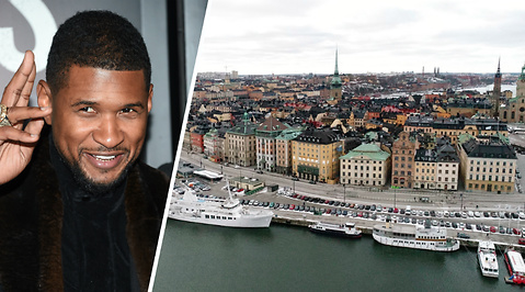 Rinkeby, Quincy Jones III., Usher, Stockholm