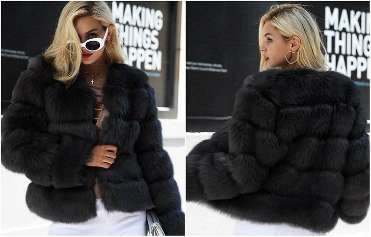 Dream Jacket i faux fur