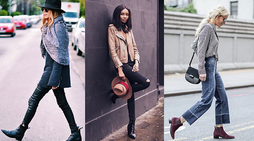 It-girls, Trend, blogger, Fashion, Ankleboots