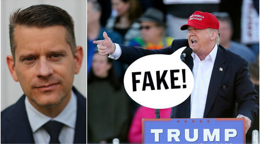 Fake news, Marcus Birro, Debatt, Donald Trump
