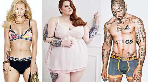Reklam,  Tess Holliday, Iggy Azalea, Hollywood, Cristiano Ronaldo