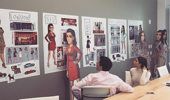 Kim Kardashian: Hollywood spel