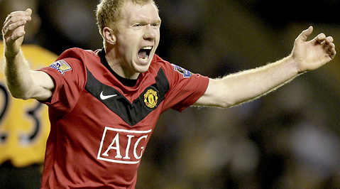 Manchester United, Paul Scholes, Premier League, Manchester City
