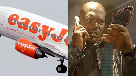 Snakes on a plane, Passagerare, Easyjet, Orm, Twitter, Samuel L. Jackson, Flygplan