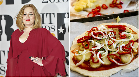 Adele, Pizza