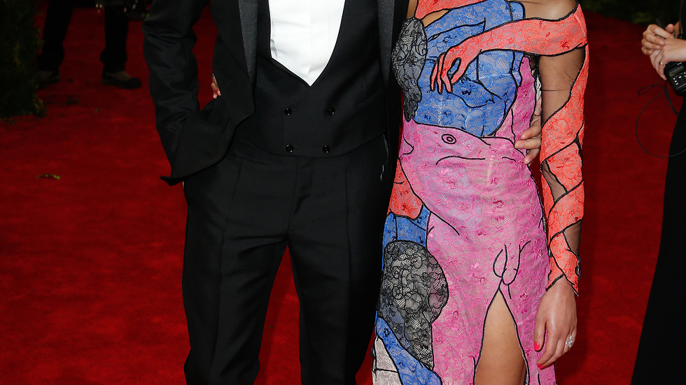 FKA Twigs och Robert Pattinson på Met-galan.