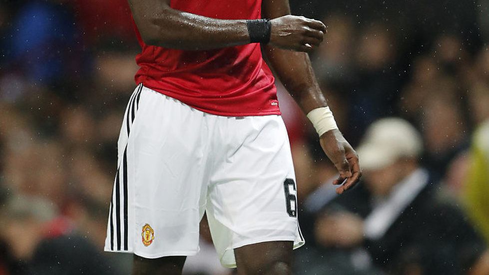 Pogba in action.