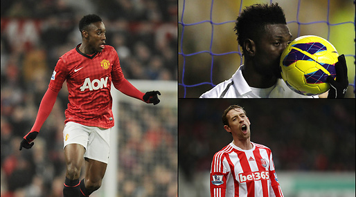 Anfallare, Danny Welbeck, Manchester United