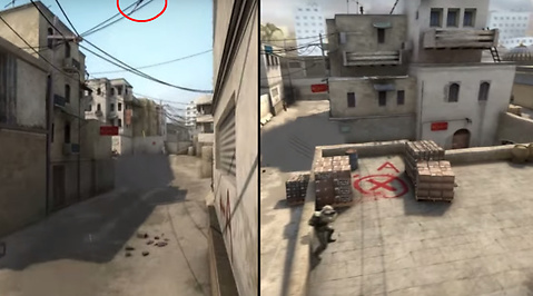 AWP, Dust2, Counter-Strike, Counter-Strike: Global Offensive