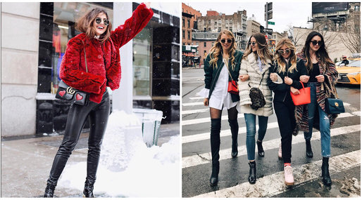 Street style, New York Fashion Week, Bloggare, Mode