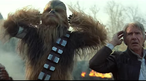 The Force Awakens, Star Wars, Trailer