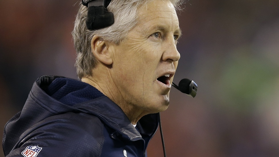 Seattle Seahawks tränare Pete Carroll.