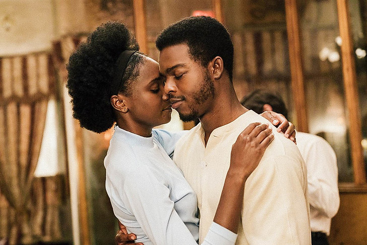 Stephan James och Kiki Layne i If Beale Street Could Talk.