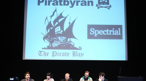 Internet, The Pirate Bay, Piratpartiet, Fildelning, Pirate Bay, Marcin de Kaminski
