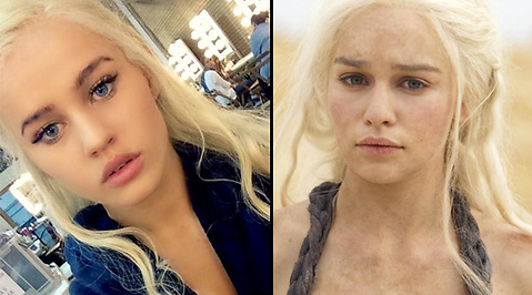 Body Double, game of thrones, khaleesi, Emilia Clarke