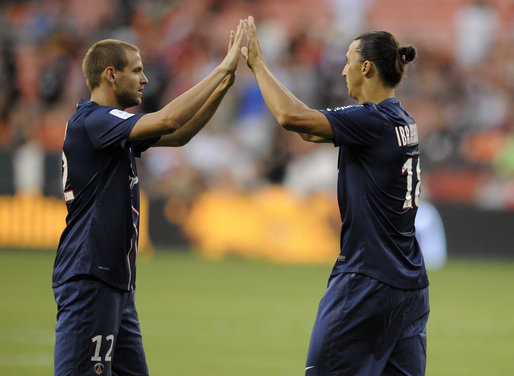 DC United, Paris Saint Germain, Zlatan Ibrahimovic