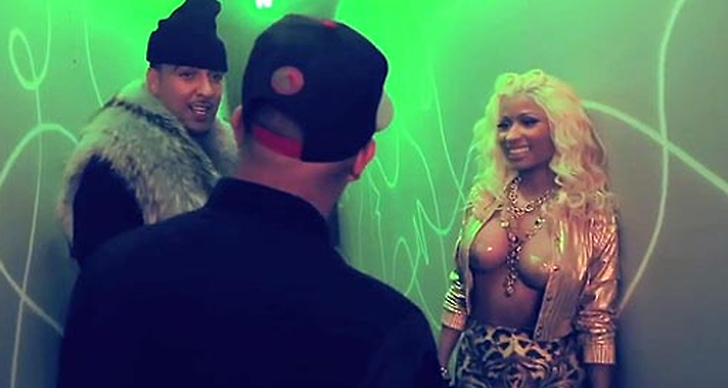 Premiar for nicki minajs vagade brostvideo