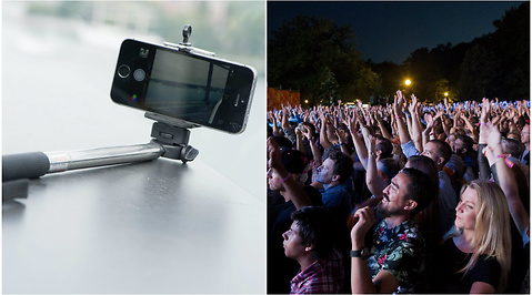 Selfie, Selfiestick, Groupie, Summerburst, festival, Way Out West