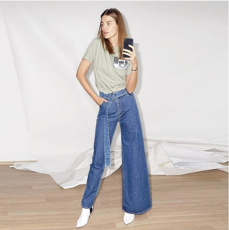 Jeansmodell jeanstrend 2019
