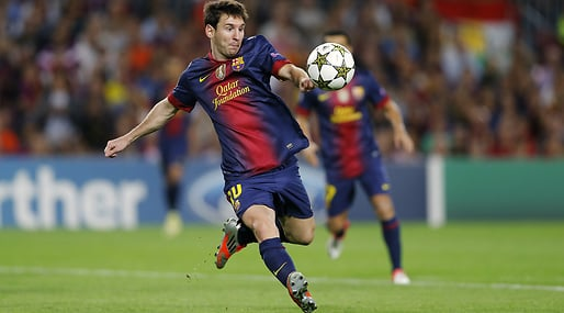 Messi, 2012, Ballon d'Or