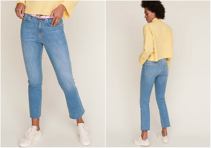 Blåa jeans Gina Tricot