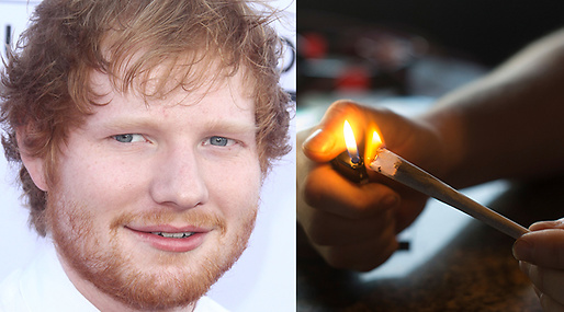 Ed Sheeran, Marijuana