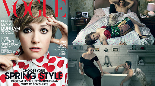Vogue, Lena Dunham, Girls